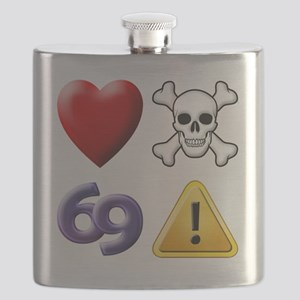 Love Hate Sex Pain Flask