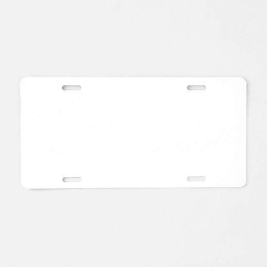 cougar12 Aluminum License Plate