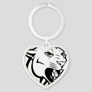 cougar7 Heart Keychain