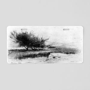 Landscape with ducks - Florence Este - 1885 Alumin