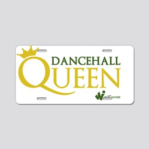 Dancehall Queen Aluminum License Plate