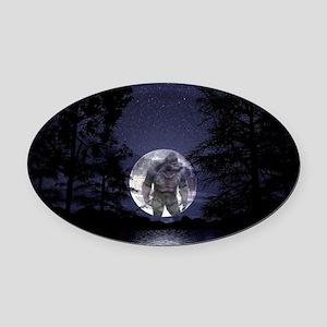glbfrlarge2 Oval Car Magnet