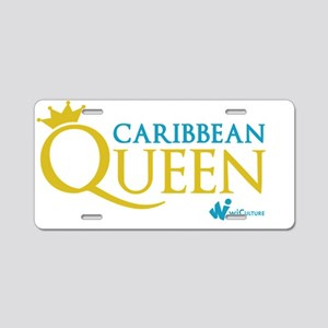 Caribbean Queen Aluminum License Plate