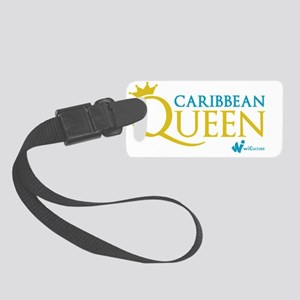 Caribbean Queen Small Luggage Tag