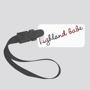 Highland Babe Small Luggage Tag