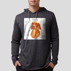 Vizsla Mens Hooded Shirt