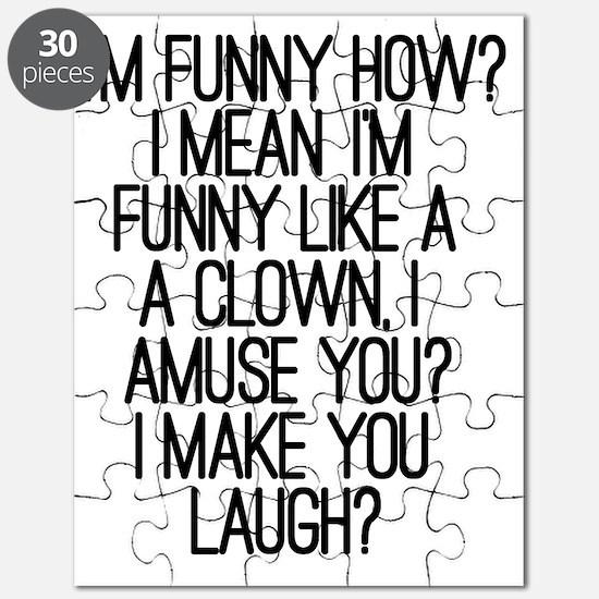 Im Funny How? Puzzle
