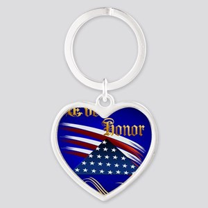 Ever Honor Heart Keychain