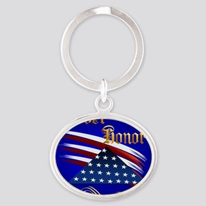 Ever Honor Oval Keychain