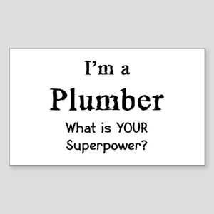 plumber Sticker (Rectangle)