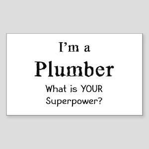 plumber Sticker (Rectangle)