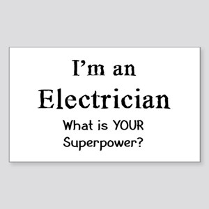 electrician Sticker (Rectangle)