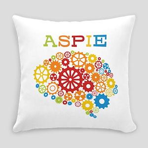 Aspie Brain Autism Everyday Pillow