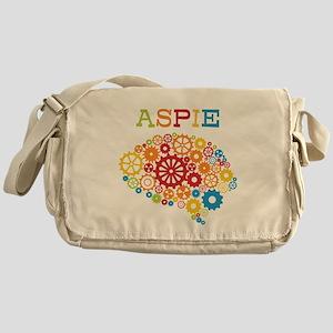 Aspie Brain Autism Messenger Bag