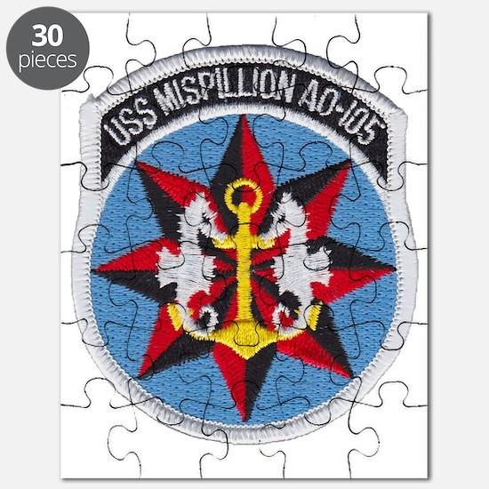 uss mispillion patch transparent Puzzle