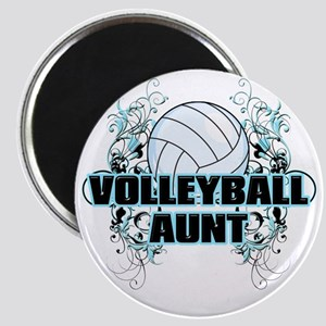 Volleyball Aunt (cross) Magnet