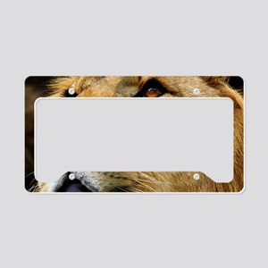 Lion License Plate Holder