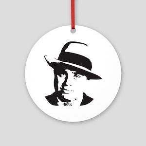 Al Capone Round Ornament