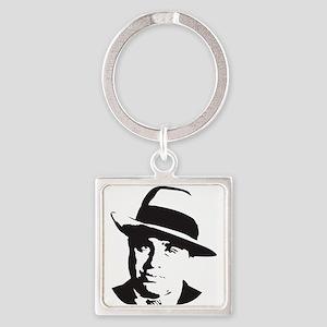 Al Capone Square Keychain