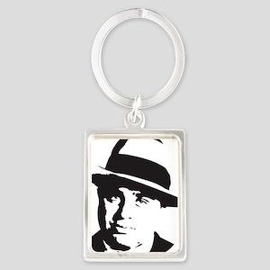 Al Capone Portrait Keychain