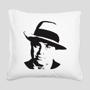 Al Capone Square Canvas Pillow