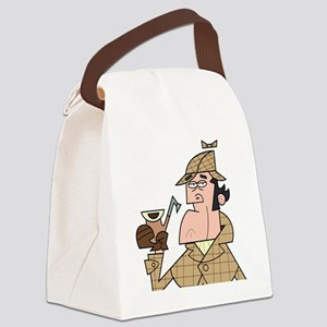 Sherlock - Headshot Canvas Lunch Bag