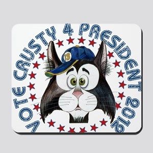 Crusty 2012 Button 1 Mousepad