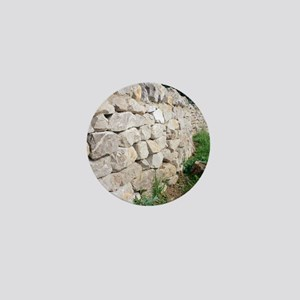 Limestone wall Mini Button