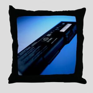 Lithium-ion battery Throw Pillow