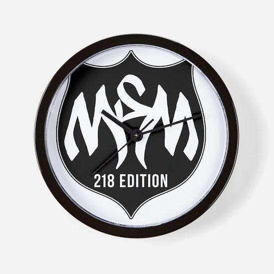 MSM Shield - 218 Edition Wall Clock