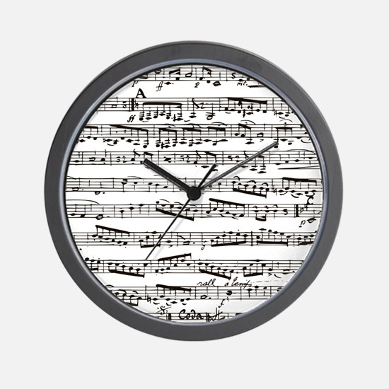 Vintage music Wall Clock