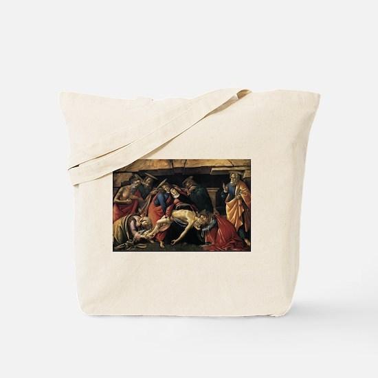 Lamentation over the Dead Christ - Botticelli Tote