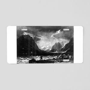 Lake of Thun, Swiss - J M W Turner - 1808 Aluminum