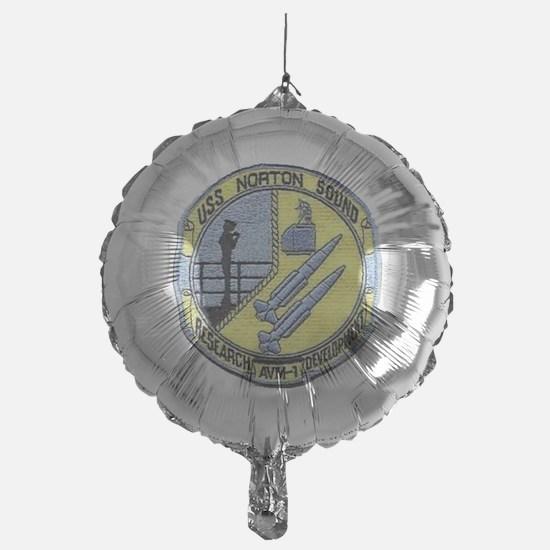 uss norton sound patch transparent Balloon
