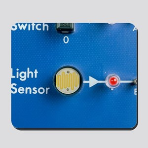 Light dependent resistor Mousepad