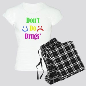 Dont Do Drugs Unless Theyre Women's Light Pajamas