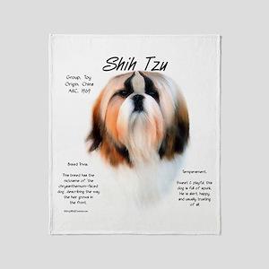 Shih Tzu Throw Blanket