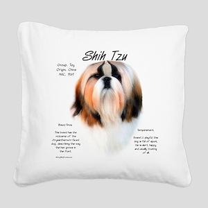 Shih Tzu Square Canvas Pillow