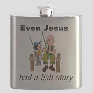 Even Jesus had a fish story Flask