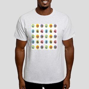 B-Buggz Dot Pattern Light T-Shirt