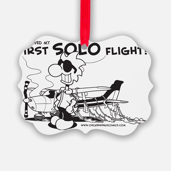 First Solo Flight (Plane) Ornament