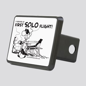 First Solo Flight (Plane) Rectangular Hitch Cover