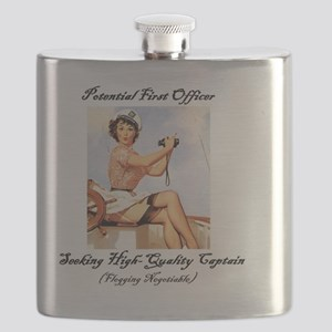 Potential First Officer Flask