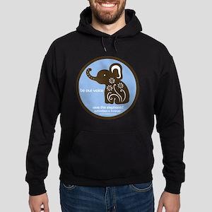 SAVE THE ELEPHANTS! Hoodie (dark)