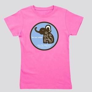 SAVE THE ELEPHANTS! Girl's Tee