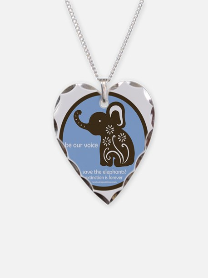 SAVE THE ELEPHANTS! Necklace
