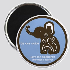 SAVE THE ELEPHANTS! Magnet