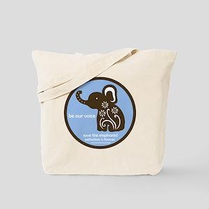 SAVE THE ELEPHANTS! Tote Bag