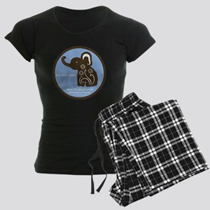SAVE THE ELEPHANTS! Women's Dark Pajamas