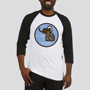 SAVE THE ELEPHANTS! Baseball Jersey